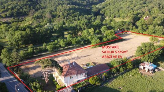 Beykoz Bozhane Mahallesi'nde Müstakil Satılık 5725m² Arazi ve Ev - Manzara