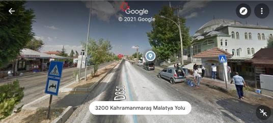 MALATYA ERKENEK'TE K. MARAŞ , MALATYA YOLUNA CEPHE 842 M2 ARSA - Sokak Cadde Görünümü