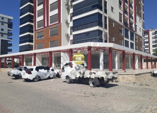 HB'DEN KİRALIK DÜKKAN, 1100 m² KULLANIM ALANLI 3  CEPHELİ - Sokak Cadde Görünümü