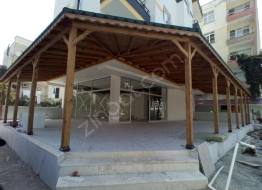 LİDYA Gayrimenkul Erdemli Alata'da Satılık Cafe / Restoran / Bar - Dış Cephe