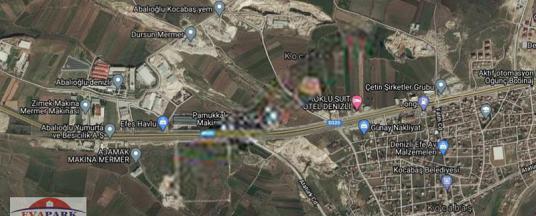 EVAPARK TAN ANKARA ASFALTINA BİR PARSEL İÇERİDE SANAYİİ PARSELİ - Harita