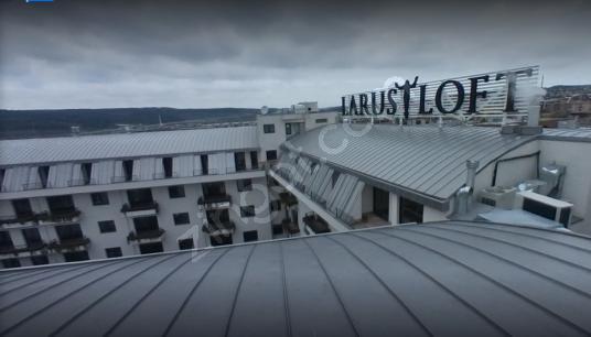 GÖKTÜRK'ÜN KALBİ LARUS LOFT RESIDENCE LUX VE MOBİLYALI 1+1 DAİRE - Balkon - Teras