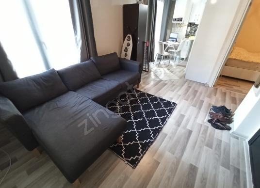 4.Levent Çeliktepe 1+1 Full Eşyalı Dahil Metro 5dk - Salon