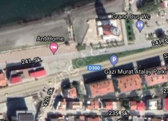 Güzelbahçe Halk Plajı Karşısı Kupon Arsa 2.5 kat imarlı - Kat Planı