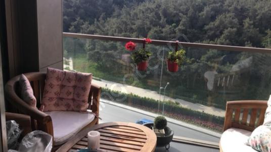 Vadistanbul Park Etap 4+1 Kiralık Orman Cephe Daire - Balkon - Teras