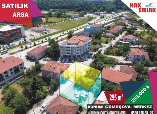 Hak Emlak'tan Gümüşova'da Hastane Karşısı Satılık 295 m2 Arsa - Site İçi Görünüm
