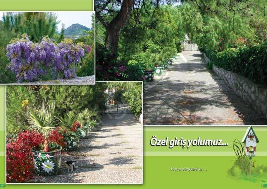 MARMARİS HİSARÖNÜNDE SATILIK DENİZ MANZARALI VİLLA - Bahçe