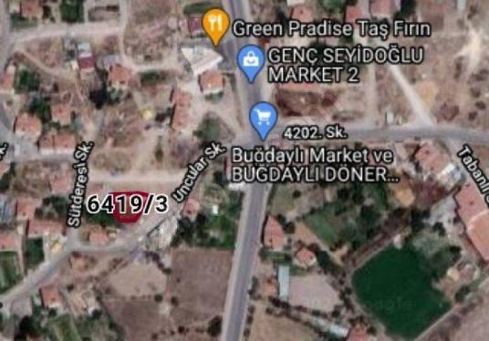 AR TEK DEN BUĞDAYLIDA  MAH..348m ARSA ARAÇLA TAKAS OLUR - Harita