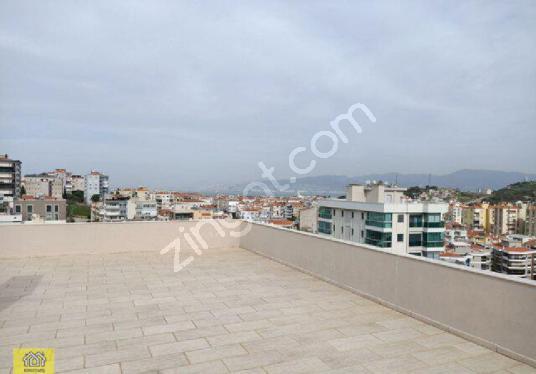 MUHTEŞEM DENİZ VE DOĞA MANZARALI 3+1 175 M2 DAİRE - Balkon - Teras