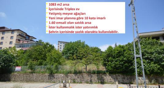 Samyap'tan Canik Hasköy'de 1083 m2 Satılık Arsa ve Triplex Ev - Dış Cephe