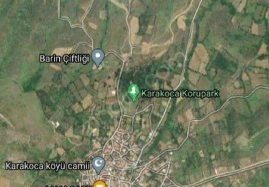 BURSA KARACABEY KARAKOCA KÖYÜNDE SATILIK TARLA - Harita