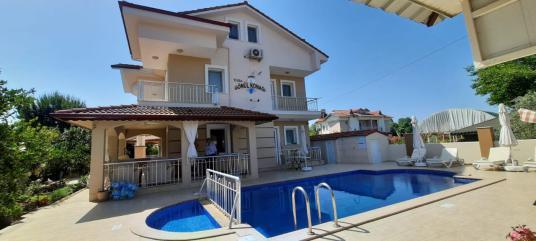 Dalyan'da kiralık tatil apartları - Yüzme Havuzu