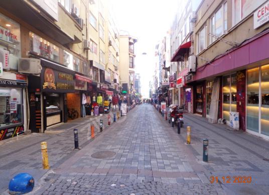 BAHARİYE CADDESİ 2.KAT YENİLENMİŞ KLİMALI 50m2 KİRALIK İŞYERİ - Sokak Cadde Görünümü
