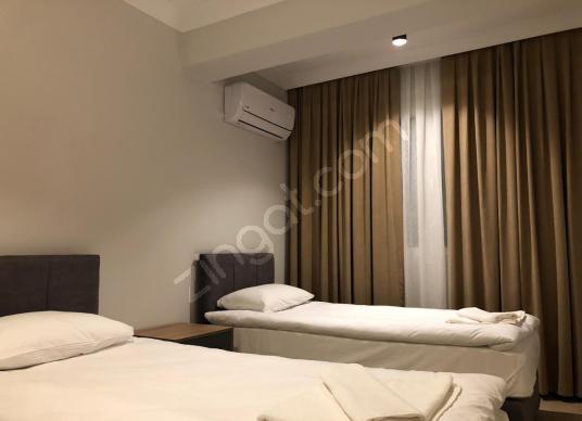 FETHİYEDE KISA SÜRELİ KONAKLAMA İÇİN ÇOK CAZİP SIFIR YAPI 2+1 - Yatak Odası