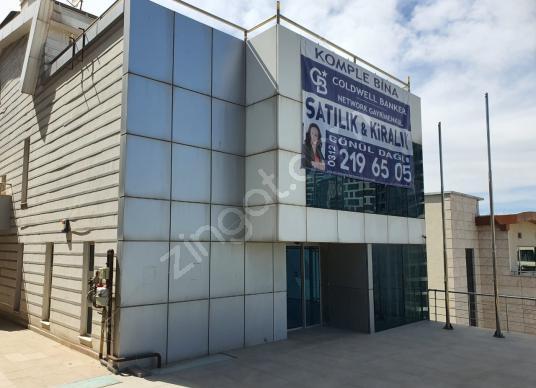 Ankara Çankaya İlkbahar Mah.+ KDV'li 1250m2 Kiralık Garajlı Bina - Dış Cephe