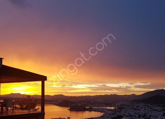 Panoramik Bodrum Manzaralı 2+1 Dubleks Kartal Yuvası @Bodrum - Manzara
