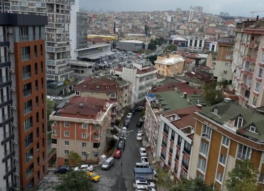 KAĞITHANE CAĞLAYANDA SATILIK KUPON DAİRE NEF 08  SEKİZDE - Manzara