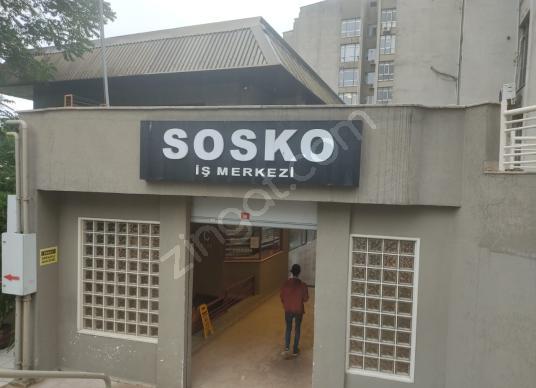ŞİŞLİ Meşrutiyet Mah. SOSKO İşmerkezi 550 m2 Kiralık Ofis Katı - Dış Cephe