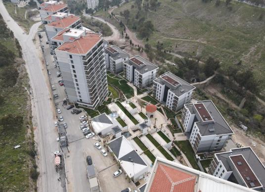 Park Yaşam Santorini'de Satılık 2+1 Daire - Manzara