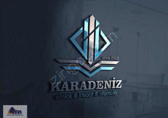 Kemalpaşa Y.Kızılca'da Satılık 1000 m2 Bahçe - KARADENİZ EMLAK - - Logo