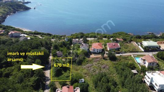 Beykoz Rivada satılık deniz manzaralı 670 m2 imarlı arsa - Manzara