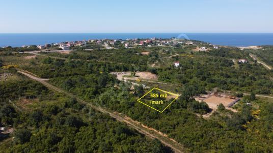 Beykoz Rivada satılık doğa içinde 585 m2 müstakil imarlı arsa - Manzara