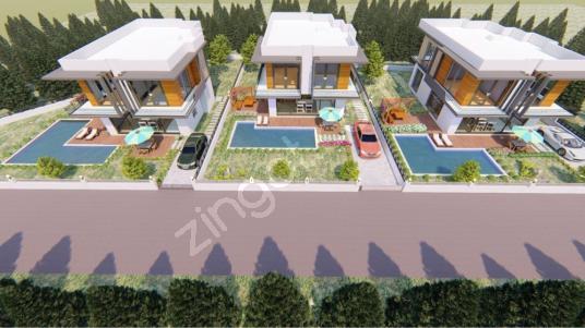Fethiye Yeşilüzümlü'de Satılık Arsa - Site İçi Görünüm