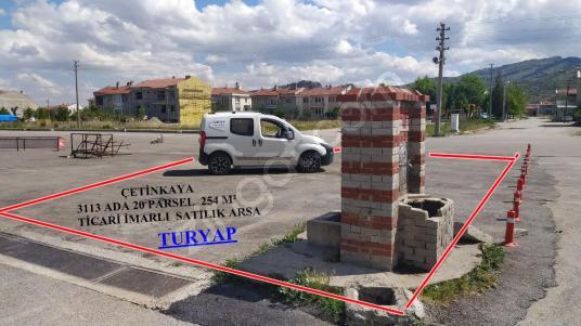 TURYAP'TAN UYDUKENT KAPALI PAZAR YERİ YANI 255 M² TİCARİ ARSA - Açık Otopark