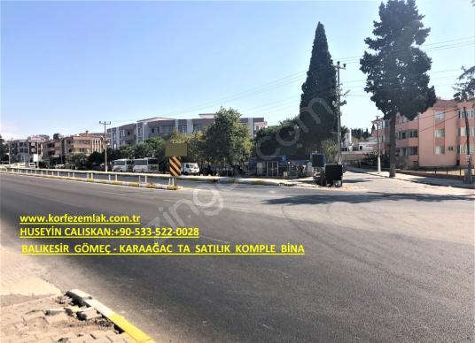 BALIKESİR GÖMEÇ KARAAĞAC TA SATILIK KOMPLE BİNALAR - Sokak Cadde Görünümü