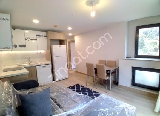 4.Levent Wen Levent Residansta kiralık Eşyalı 1+1 rezidans - Salon