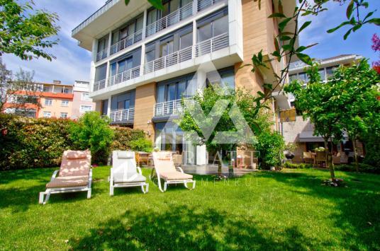 İstinye Maritza Evleri Satılık 6+2 Bahçe Dubleksi seba residence - Bahçe