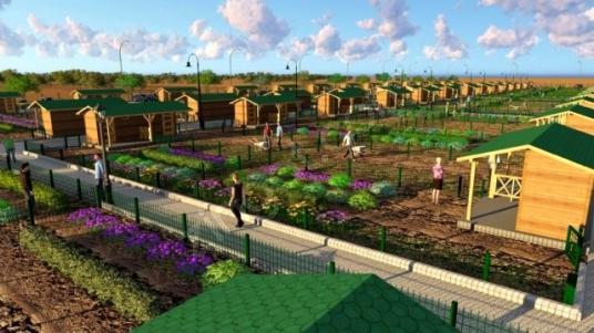 Turyap'tan Temelli Beyobası'nda 540 M2 Hobby Bahçesi - Site İçi Görünüm