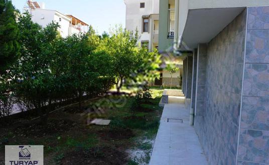 Kunduda Site içinde eşyalı kiralık 1+1 havuzlu daire - Bahçe