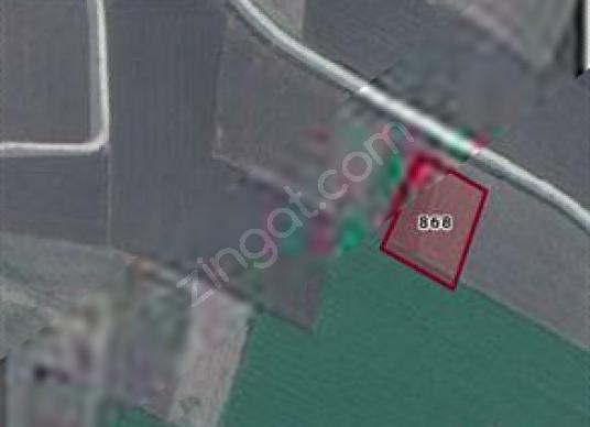 Arslanlar Mahallesinde resmi yolu olan satılık tarla - Harita