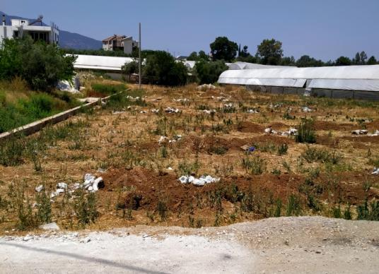 Fethiye Bozyer'de Satılık Tarla 1,600 m2 - Arsa