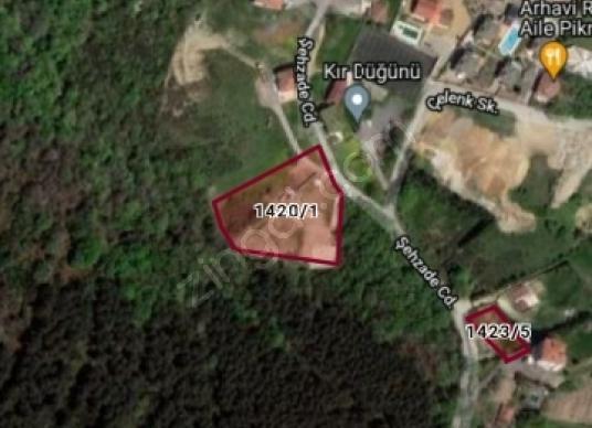 Beykoz Cavusbasinda arsa - Kat Planı