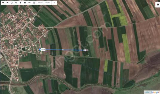 TEKİRDAĞ ERGENE MİSİNLİ 473 M2 KONUT İMARLI UYGUN FİYATLI ARSA - Site İçi Görünüm