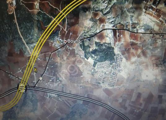 Gaziantep Boyno Da Muhteşem Manzarası Satılık 10.080 m2 Arazi - Harita