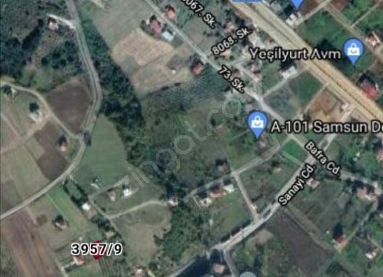 Önü Kapanmayacak Deniz Manzaralı Villa Arsası - Harita