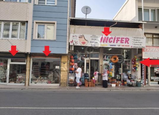 Gaziemir Sarnıç'ta Devren Kiralık Bujiteri-Parfümeri Dükkanı - Sokak Cadde Görünümü