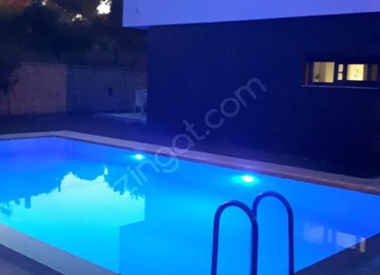 15 TEMMUZ 05 AĞUSTOS KİRALIK HAVUZLU FUL EŞYALI VİLLA - Yüzme Havuzu