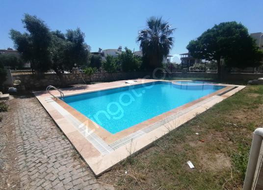Didim Akbük'te Kiralık Müstakil Ev - Yüzme Havuzu