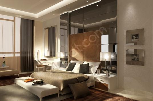 115 square meters 3+1 bedrooms Luxury Homes For Sale in Kuşadası, Aydın - Yatak Odası