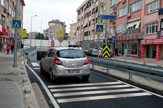 ANA CADDE ÜZERİNDE KİRACILI 20 M2 DÜKKAN - Sokak Cadde Görünümü