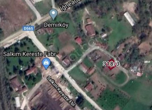KIRKLARELİ DEMİRKÖY YENİMAHALLEDE 245M2 İMARLI SATILIK ARSA - Kat Planı