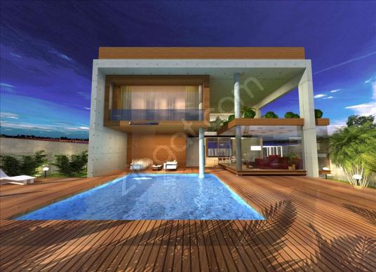 Sapanca'da SPA konseptli Ultra Lüks Villa - Yüzme Havuzu