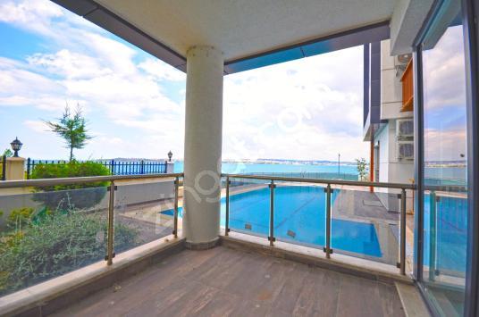 İstanbul House'dan, Otoparklı, Güvenlikli, Site İçi, Lüks 3+1. - Balkon - Teras