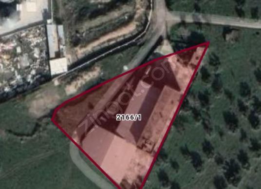 Manisa Turgutluda Satılık 4.575m2 Arsa İçinde Çırçır Bnası2820m2 - Harita
