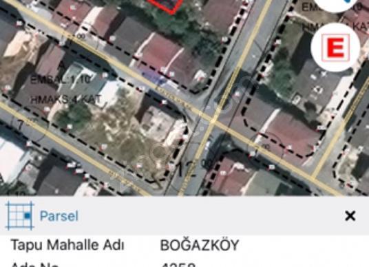 Arnavutköy Atatürk Mahallesin'de satılık arsa 161m2 - Harita