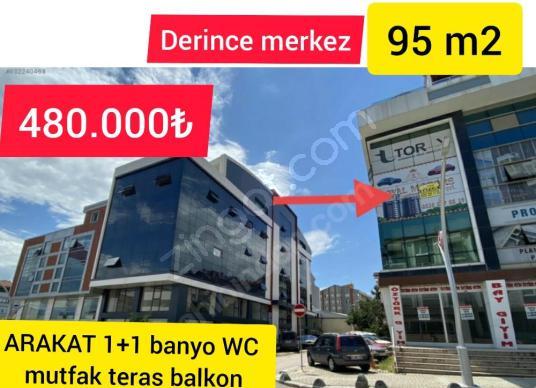 DERİNCE MERKEZDE D-100 CEHPE ARAKAT SATILIK 1+1 HOME OFİS - Dış Cephe